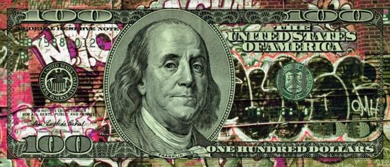 Stocks, Bonds & Street Art by Ultravelvet