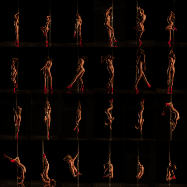 Tiffany Pole (In Time) by Guido Argentini