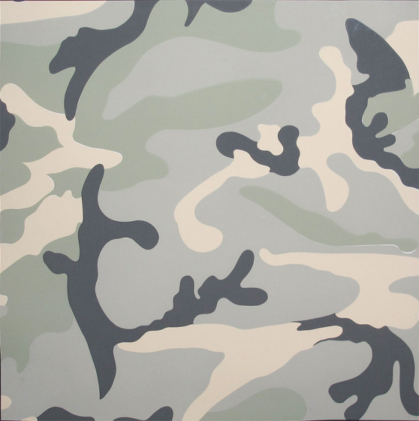 Camo TP (Grey) by Andy Warhol