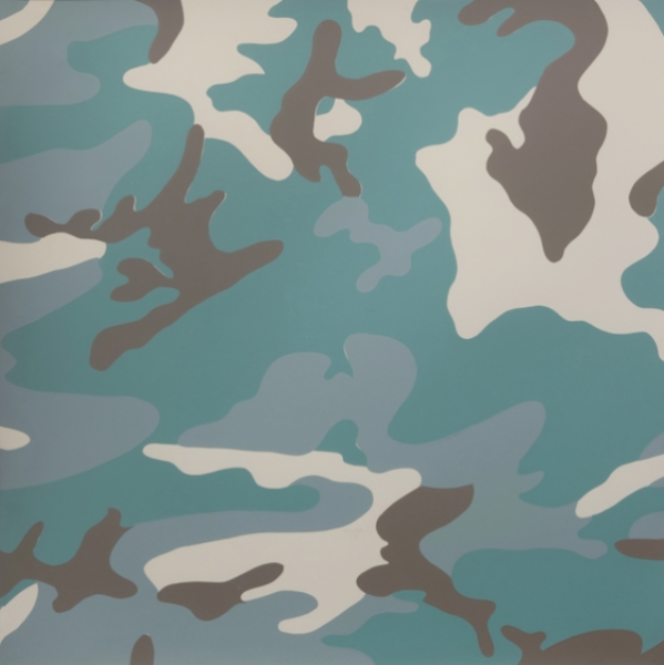 Camo TP (Teal) by Andy Warhol