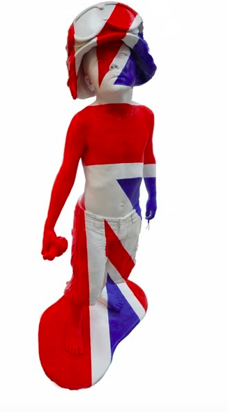 Boy Soldier Union Jack by Schoony