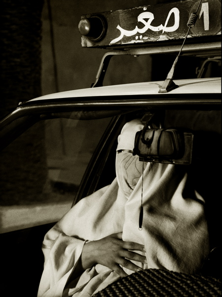 Woman In Taxicab