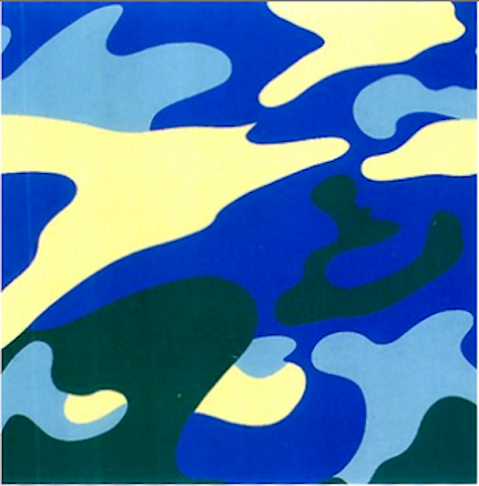 Camouflage 411 by Andy Warhol