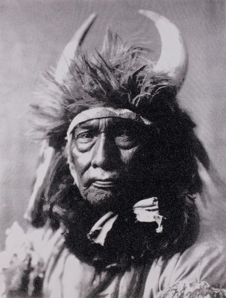 YOUNG BULL CHIEF by Russell Young