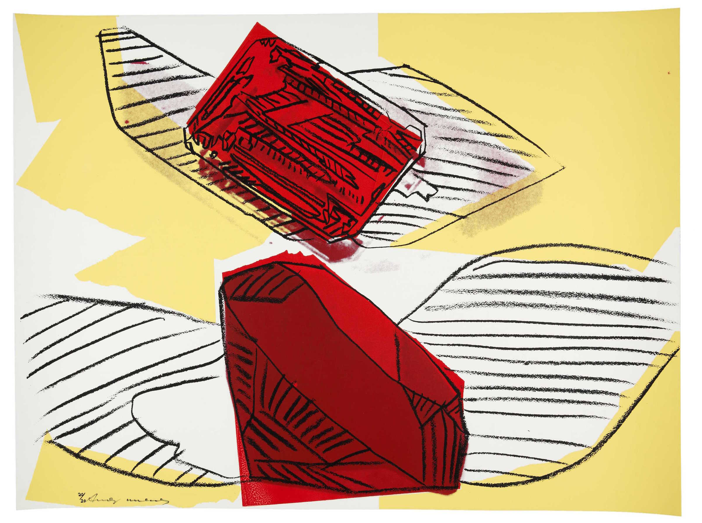 Andy Warhol Gem 187