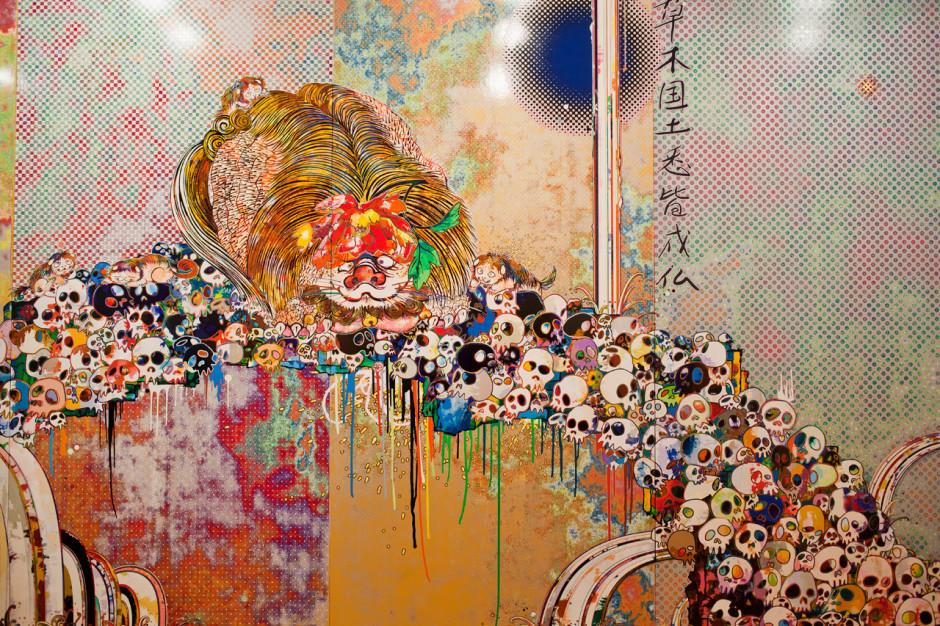 Yayoi Kusama   Infinity Nets (2014)   Artsy