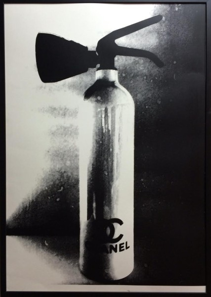 Chanel Fire Extinguisher (White) by Niclas Castello