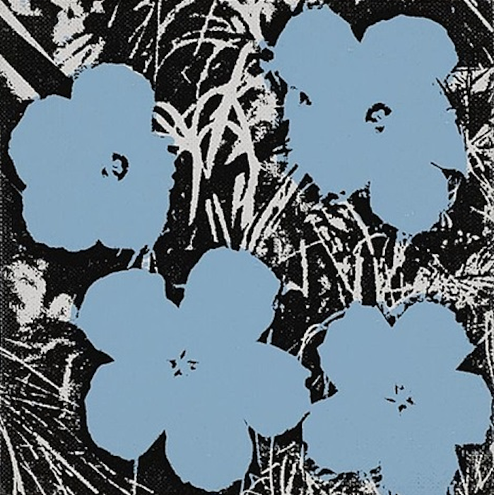 5 Inch Flower Painting by Andy Warhol