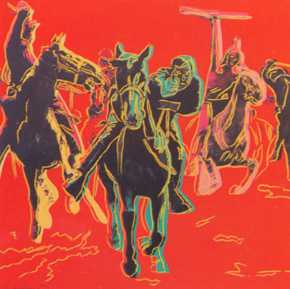 Action Picture by Andy Warhol