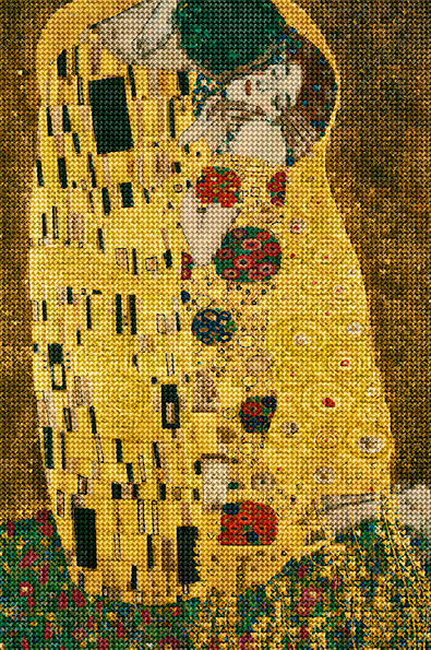 After Klimt by Alex Guofeng Cao