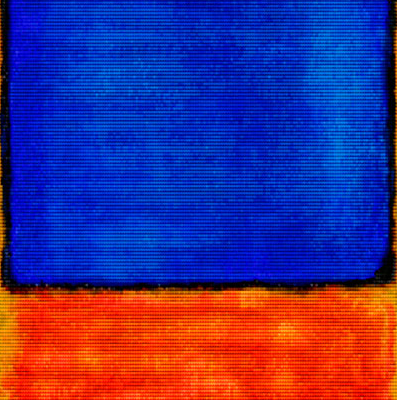 After Rothko by Alex Guofeng Cao