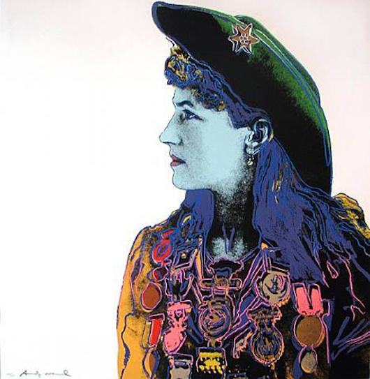 Annie Oakley by Andy Warhol