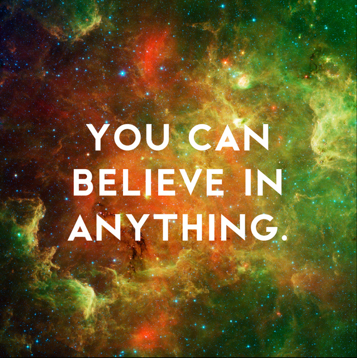 Believe in Anything by Donny Miller