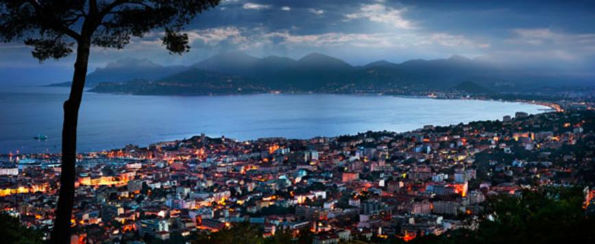 Bay of Cannes by David Drebin