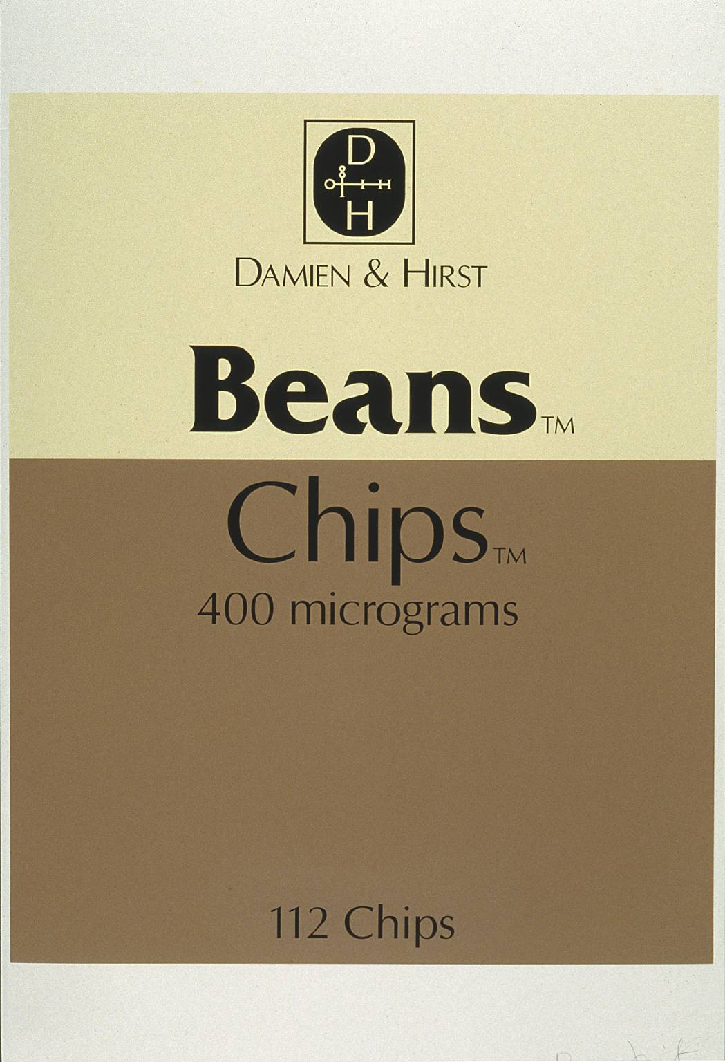 Beans and Chips by Damien Hirst