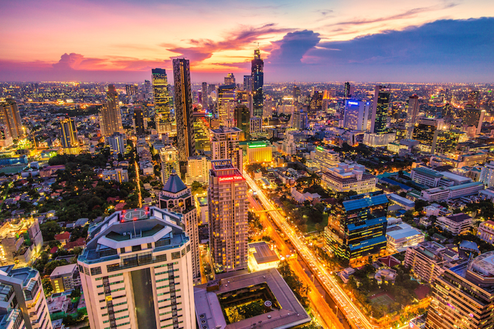 Bustling Bangkok by @Jacob