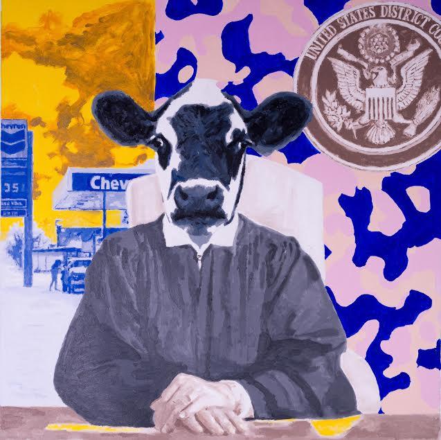 Cow by Gillean Clark