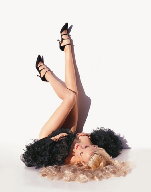 Daryl Hannah Vogue by Michel Comte