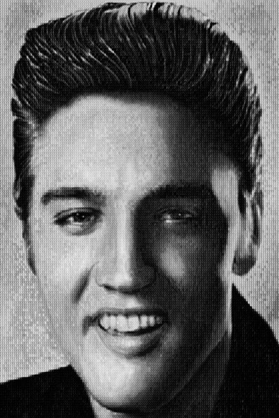 Elvis vs John Lennon by Alex Guofeng Cao