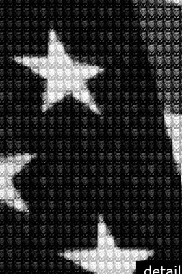 Flag vs JFK detail