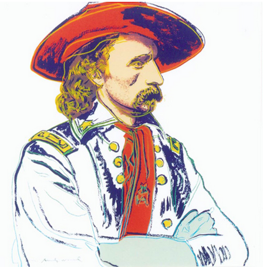 General Custer by Andy Warhol