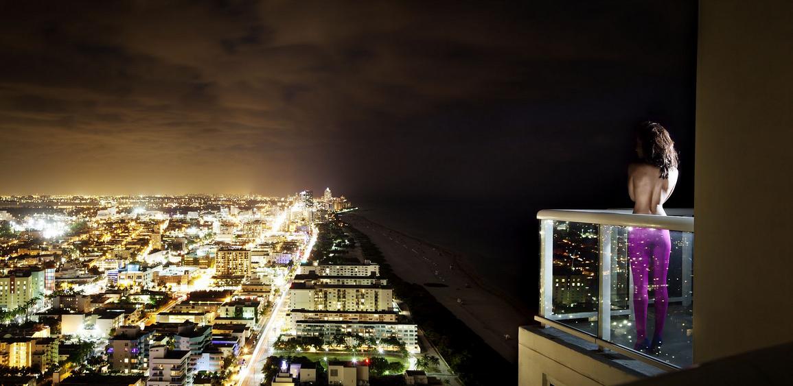 Glittering City by David Drebin