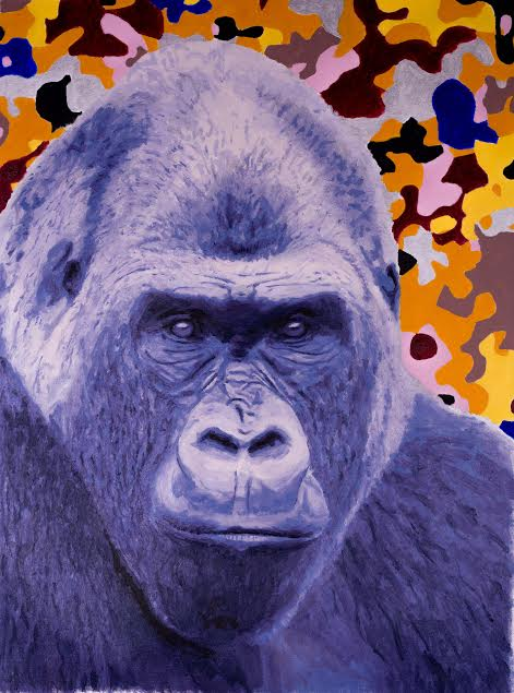 Gorilla by Gillean Clark
