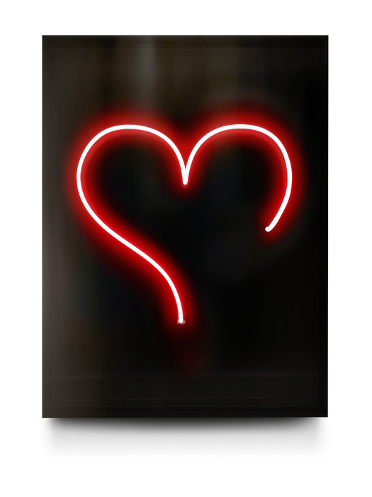 Big Heart Neon by David Drebin