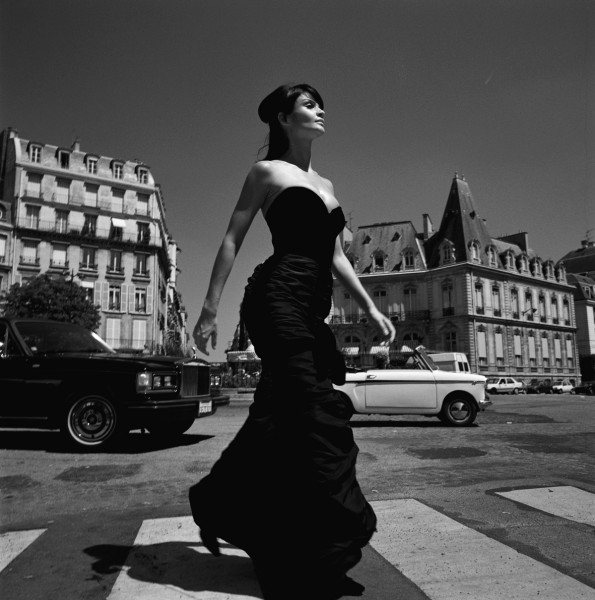 Michel Comte. Helena Christensen Crossing, 2013.