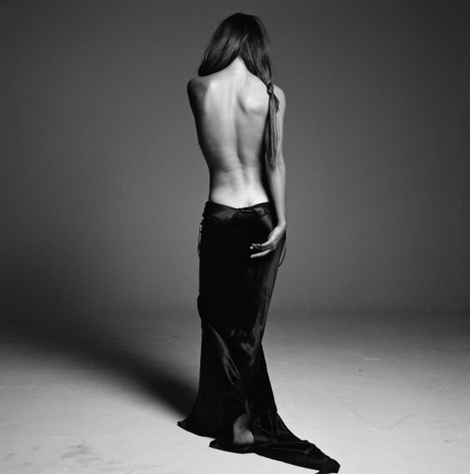 Helena Backless by Michel Comte