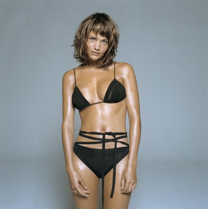 Helena Christensen Bikini