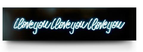 I Love You Neon by David Drebin