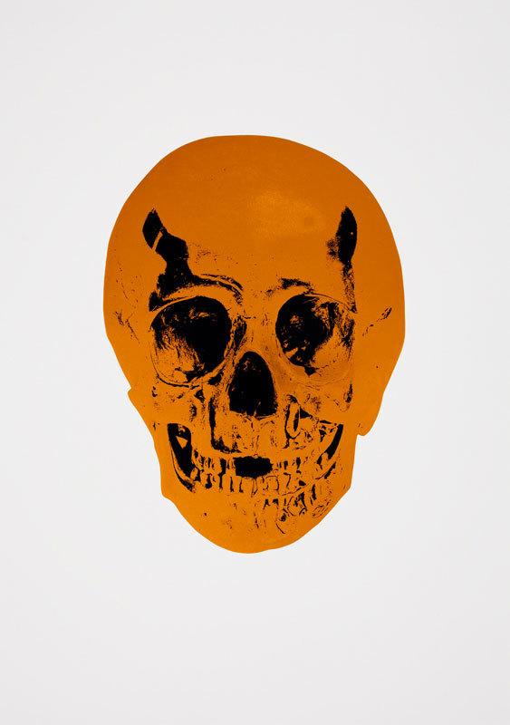 Island Copper Skull by Damien Hirst