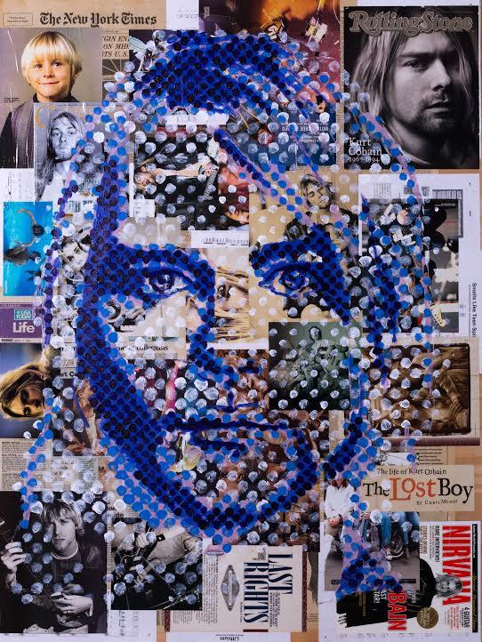 Kurt Cobain by Gillean Clark