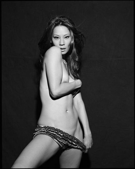 Lucy Liu by Michel Comte