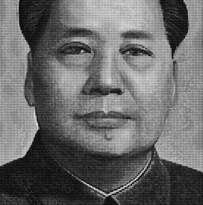 Mao Portrait vs Marilyn by Alex Guofeng Cao