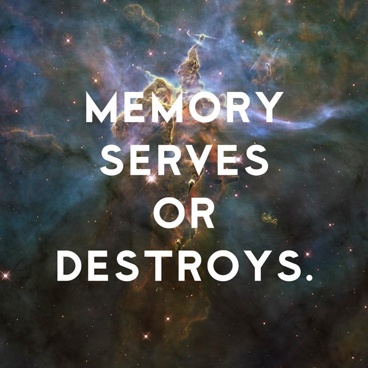 Memory Serves or Destroys by Donny Miller