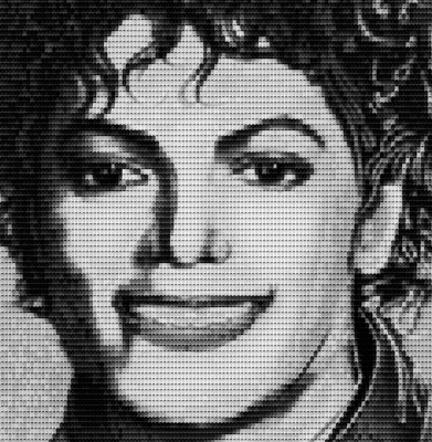 Michael Jackson by Alex Guofeng Cao