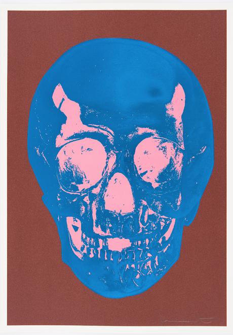 Milk Chocolate Skull by Damien Hirst l by Damien Hirst