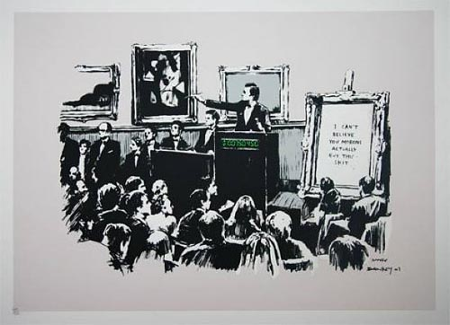 Morons by Banksy