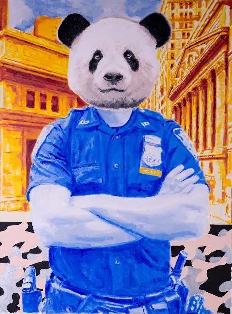 Panda by Gillean Clark