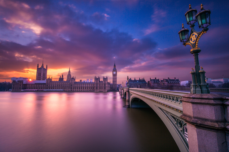 Parliament Sunset by @Jacob