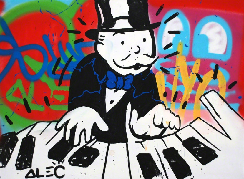 Piano Man by Alec Monopoly