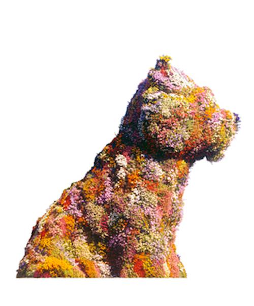Puppy John Kaldor 40th Anniversary by Jeff Koons