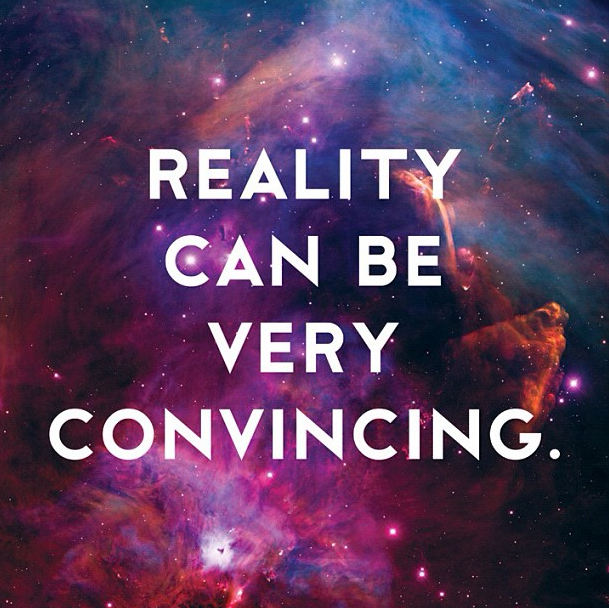 Reality Can Be Convincing  by Donny Miller