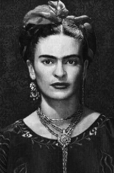 Frida vs Frida by Alex Guofeng Cao