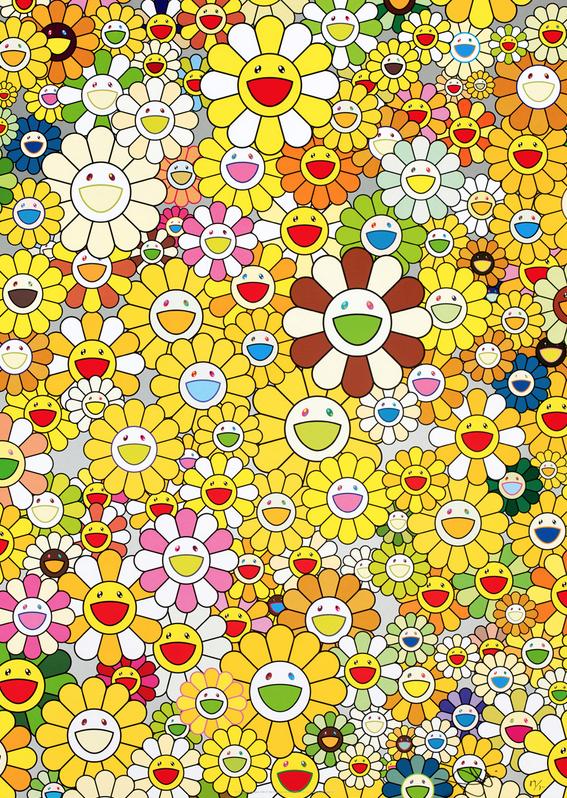 Homage to Monogold by Takashi Murakami