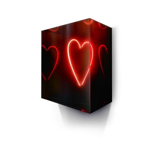 Small Heart Neon by David Drebin