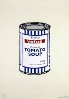 Soup Can by Banksy