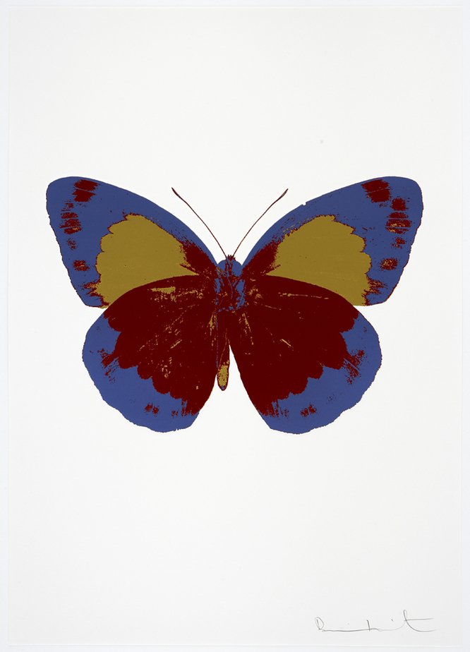 The Souls II by Damien Hirst (Chilli Red)